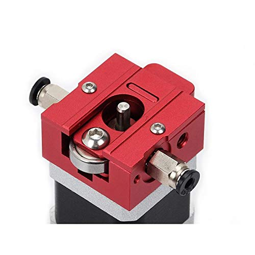 ZJYSM Red DIY Reprap Bulldog All-metal 1.75mm Extruder Compatible J-head MK8 Extruder Outside Proximity For 3D Printer Parts