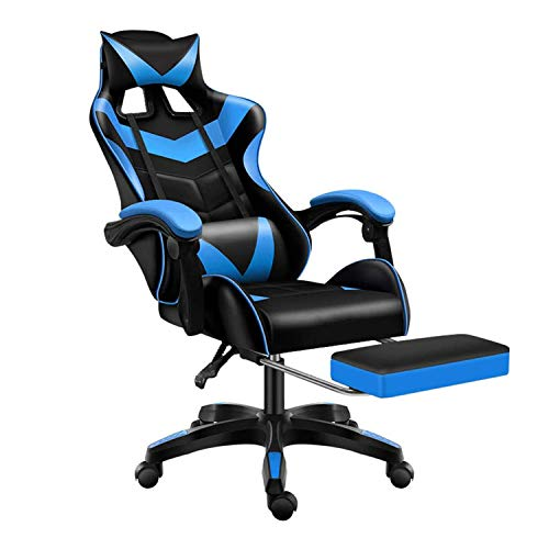 Jackgold Gaming/Racing Style Adjustable Office Chair with Removable...
