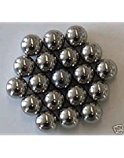 Rundkulor i stål 8 mm x 100 stycken