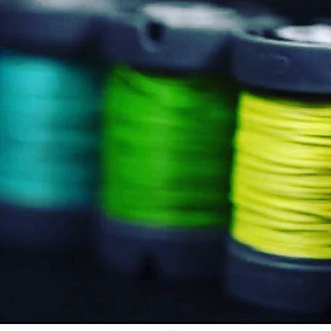 Since Leather Linen Thread for leathercraft M30/0.35MM/150M/Spool (Apple Green, M30/150M/Spool)