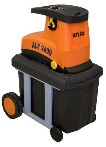 ATIKA ALF 2600 Leise-Walzenhäcksler Gartenhäcksler Elektrohäcksler Schredder | 230V | 2600W | Restposten