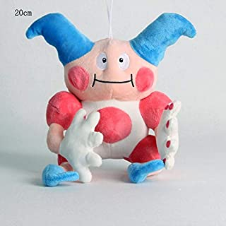 Pcqre 20cm Clown Puppet Anime Stuffed Plush Figure Cartoon Anime Monster Elves Doll Plush Soft Toy Pillow Cushion Toy Home Decor Collectible Toy Children Companion Toy Gift