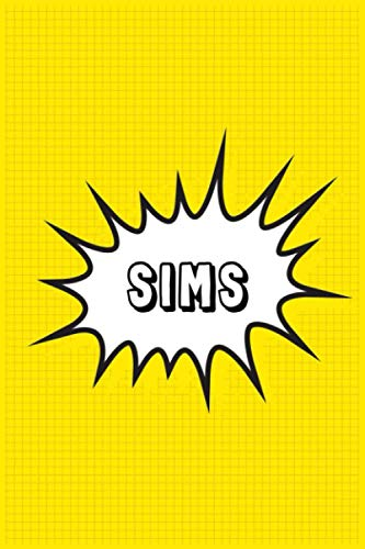 Sims: Personalized Name Sims Notebook, Gift for Sims, Diary Gift Idea
