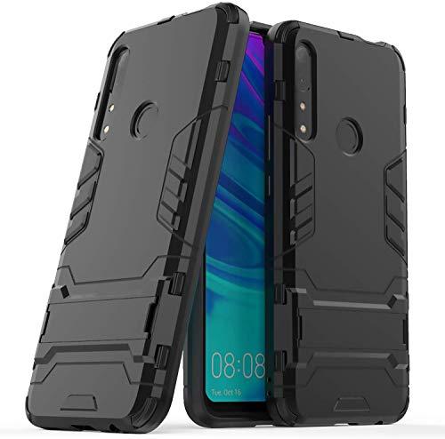 Lapinette - Carcasa compatible con Honor 9X antigolpes – Carcasa protectora antigolpes – Protección Honor 9X – Carcasa rígida modelo Iron negro