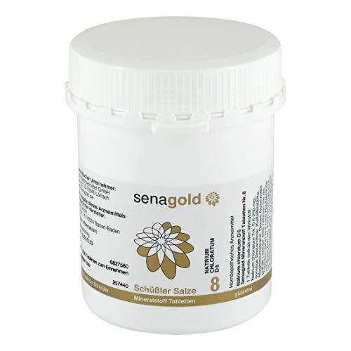 Schuessler Salz Nr. 8 - Natrium chloratum D6-1000 Tabletten, glutenfrei