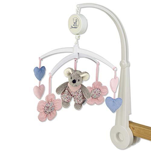 Sterntaler Mobile Maus Mabel, Gestänge, Spielwerk, Mobile-Figuren, Alter: Für Babys ab der Geburt, Mehrfarbig