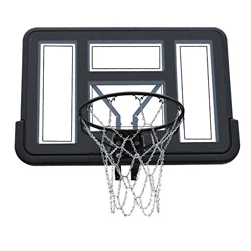 WYJW Adult Outdoor Basketball Backboard, Heimbasketballsystem, PE + PVC-Material, rostfrei
