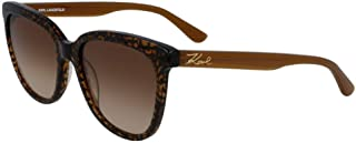 Karl Lagerfeld Rectangular KL968S Brown Sunglasses for Women