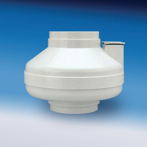 Fantech HP 2133 Radon Fan, 4.5' Duct, 134 CFM