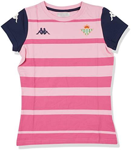 Kappa Asere Betis Camiseta, Mujer, Rosa/Azul Marino, S