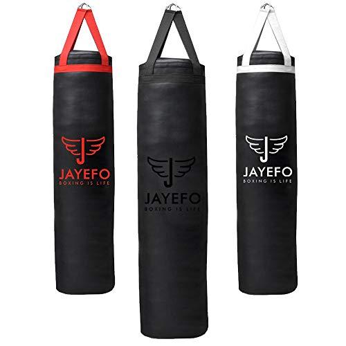 JAYEFO Punching Bag (Black, 4 FT)