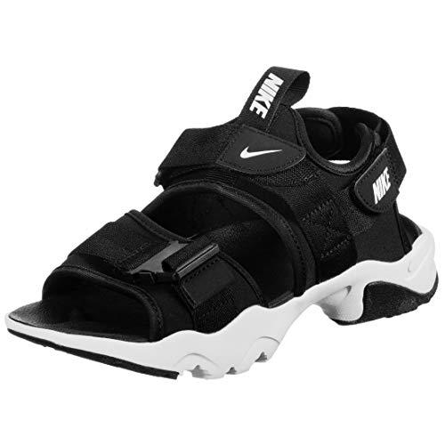 Nike Sportswear Canyon - Chanclas de baño, color blanco y negro