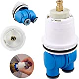 RP19804 Cartridge Assembly Replacement for Delta,1300/1400 Series Monitor Shower Valve Parts Faucet Tub Replace Single-Handle Control MulitChioce Valves Cartridge Repair Kit White/Blue