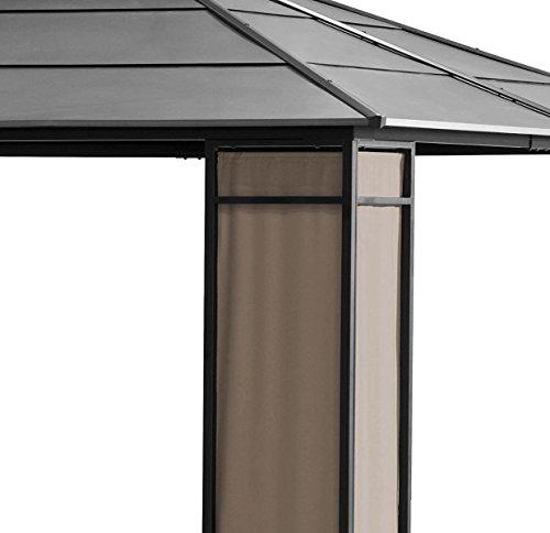 Sunjoy Wyndham Gazebo roof detail