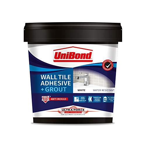 UniBond 2570751 Ultraforce - Adhesivo para pared y lechada, color blanco
