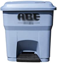 AINIYF Plastic Waste Recycling Bin-35L, Gray Green Base Office Waste Environmental Containers Thickening Protection Dustbi...