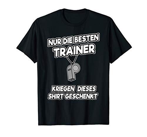 Lustiges Sportlehrer Coach Trainer Fußball Geschenk Spruch T-Shirt