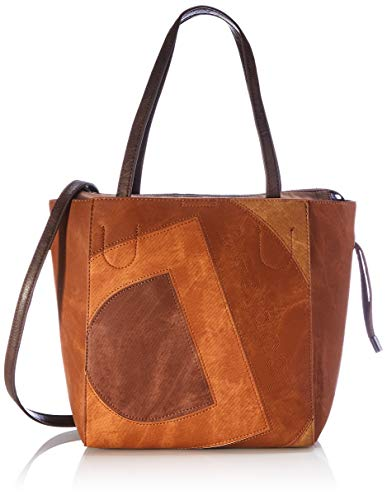 Desigual Womens Accessories PU SHOPPING BAG, BROWN, U