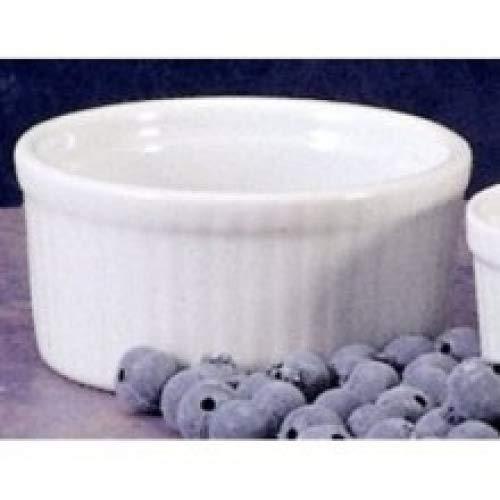 BIA Cordon Bleu Ramekin de porcelana branca, 4 unidades