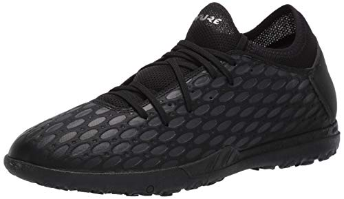 PUMA Men's Future 5.4 Turf Trainer Soccer-Shoe, Black-Asphalt,...