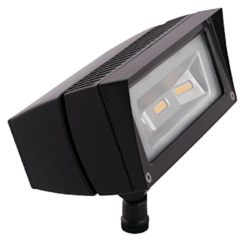 RAB FFLED18Y - 18 Watt - LED - Landscape Lighting - Flood Light Fixture - 120/208/240/277 Volt - Bronze Finish