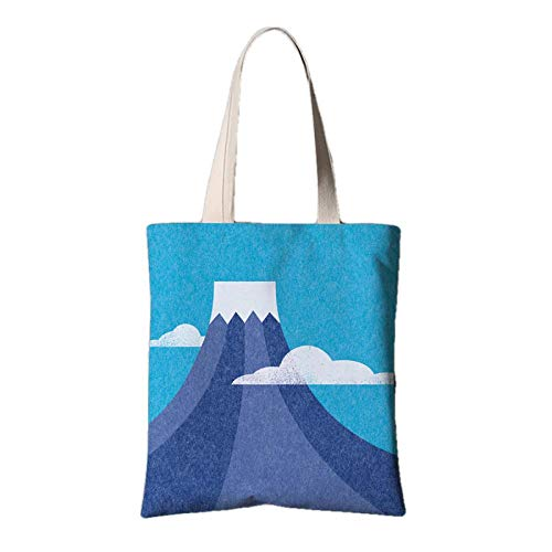 fonxoy-Storage bag Reusable Shopping Bags, Bolsa De Lona, Bolsa Móvil, Mediana