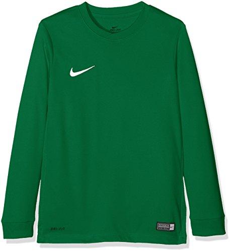 Nike Kinder Park VI Fußballtrikot , Grün (Pine Green/White/302), S