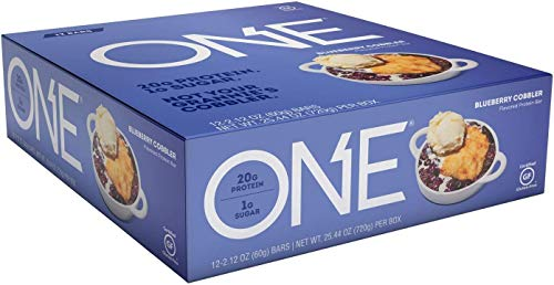 Oh Yeah One Bar 60g (Pack of 12) – Blueberry Cobbler – by Vens Nutrition