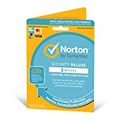 Norton Security Deluxe 2019   3 Devices   1 Year   Antivirus Included   PC/Mac/iOS/Android   Activat...