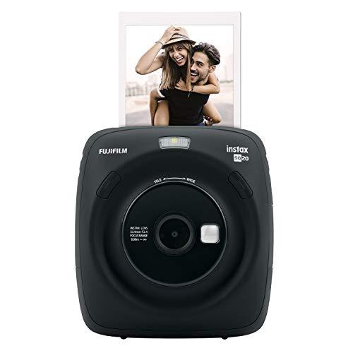 Fujifilm Cámara instantánea SQ 20 - Color Negro Fujifilm Instax Square SQ 20 Color Negro. Cámara híbrida instantánea NegroSquare