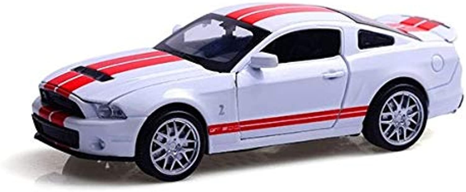 Generic KD (1 32) DieCasts Toys Car Congreenible Sport Car Metal Body Collective Car Engine Sounds. Acousto Optic 4 Openable Doors White