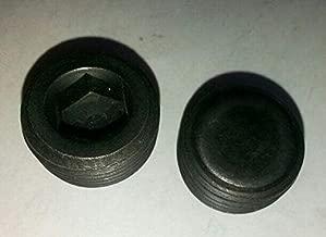 Metric M22 x 1.5 M22X1.5 Male Thread Allen Socket Head Plug Black Steel