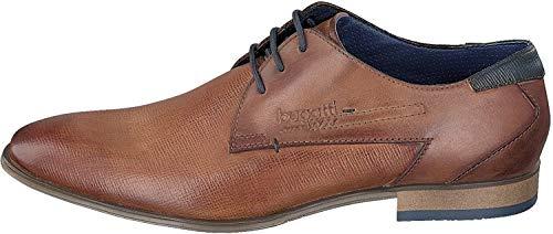 Bugatti Business-Herrenschuhe Braun, Schuhgröße:EUR 48