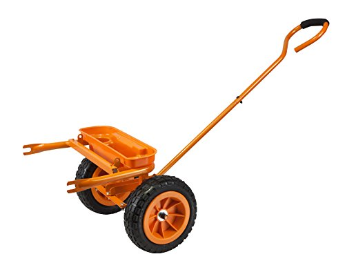 WORX WA0228 Vorderachse mit Zugstange für WORX Aerocart Multifunktions-Schubkarre WG050 – Praktischer Gartenhelfer inkl. Werkzeugablage, Gartensitz und Getränkehalterung