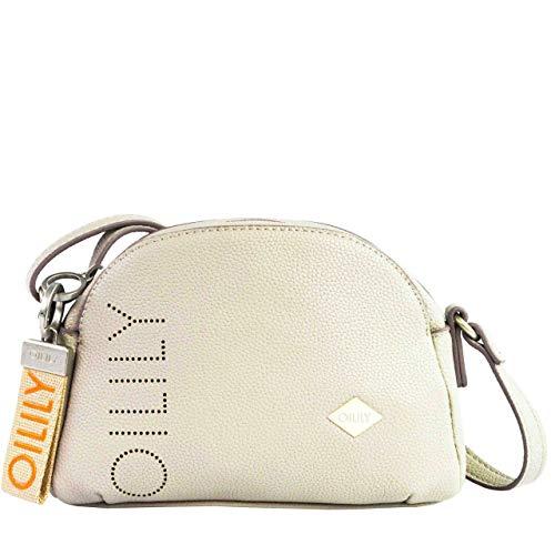 Oilily Damen Airy Shoulderbag Shz 1 Schultertasche Grau (Light Grey)