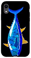 iPhone XR Bluefin Tuna Funny Tuna Fish Angler Deep Sea Fishing Case