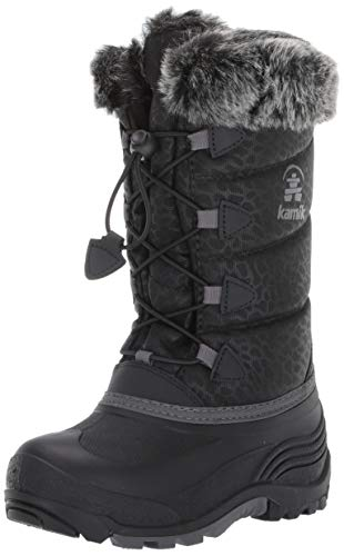 Kamik Snowgypsy3 Snow Boot, Black, 13 M US Little Kid