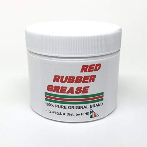 Castrol Red Rubber Grease 57gm / 2 oz. 100% Pure Genuine, for Brake Caliper Piston Seals and Boots, Corrosion and Oxidation Resistant, Meets Lucas Girling TS-2-34-04 spec.