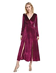 velvet christmas party dresses