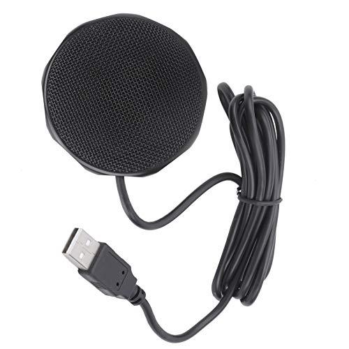Conferentiemicrofoon, USB-microfoon voor computer Plug-and-play Licht in gewicht voor conferentievergaderingen voor live…
