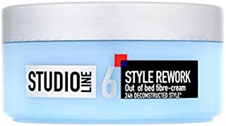 L'Oreal Paris Studio Line 6 Style Rework 24hr Out of Bed Fibre-Hair Styling Cream (150 ml)