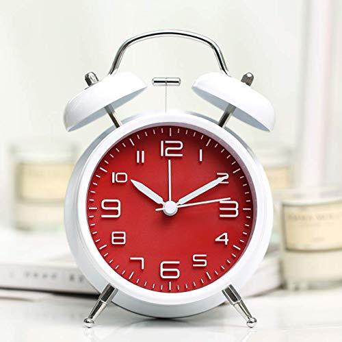 edafg Alarmsysteem met akoestisch alarm, voor studenten, met creatieve persoonlijkheid, multifunctioneel, stil, kleine wekker
