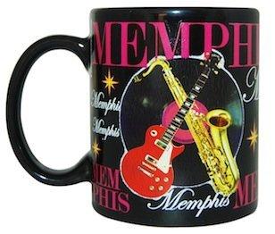Memphis Musical Themed Souvenir Coffee Mug