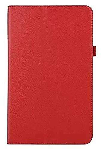 Accesorios De Pestañas para Samsung Galaxy Tab a 10.1 2016 T580 T585 SM-T580, Cubierta Plegable De Cuero Flip Funda para La Pestaña Galaxy a 10.1 (Color : Brown)