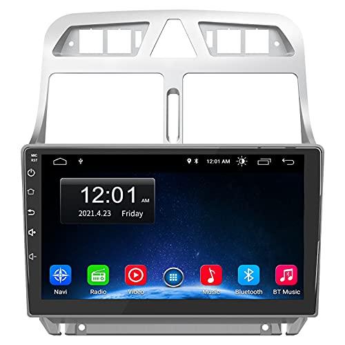 AWESAFE [Android 10.0 [2GB+32GB] Radio Coche para Peugeot 307 SW 2002 - 2013, 9 Pulgadas Pantalla Táctil, Autoradio con Bluetooth/GPS/FM/RDS/USB/RCA, Apoyo Mandos Volante, Mirrorlink y Aparcamiento