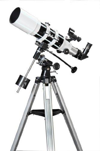 Skywatcher Startravel-102 (EQ-1) (102mm (4 Zoll), f/500) Refraktor Teleskop weiß