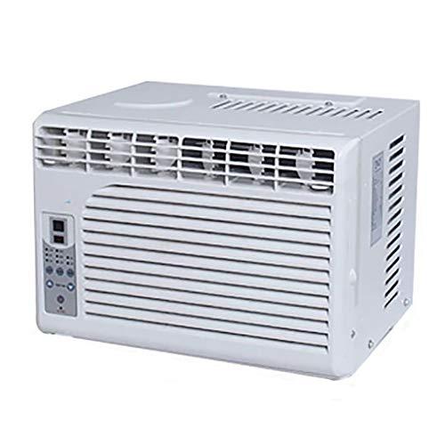Mini Aire Acondicionado Compacto en la Ventana con Control Remoto Sensible a la Temperatura (refrigeración, Funciones de Ventilador) para la Oficina de la Cocina del Dormitorio