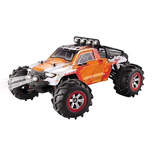 Remote Control car Remote Control Car 1:12 RC Off-Road Amphibious Speed Truck 30km/H 4-Wheel Drive Cars Toys Waterproof Climb Vehicle Toy Gift Adult Child