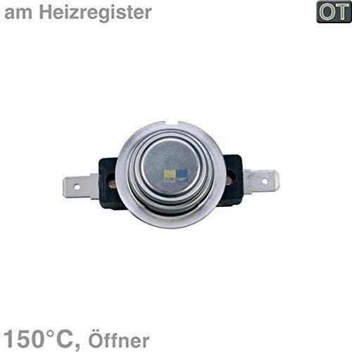 Bosch Siemens 00600158 600158 ORIGINAL Elektronik Klixon Öffner Temperaturbegrenzer Thermostat Sicherheitsthermostat Wäschetrockner Trockner Trocknerautomat auch Neff Constructa
