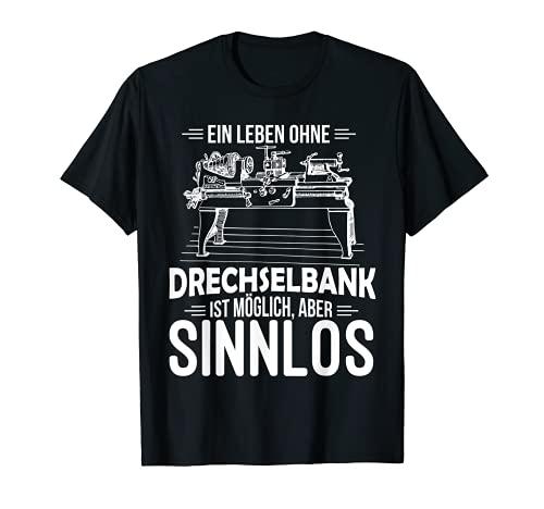 Hombre Drechsler - Torno de carpintero Camiseta